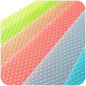 Silikónová podložka do chladničky - antibakteriálna - 4 ks Farba: modrá