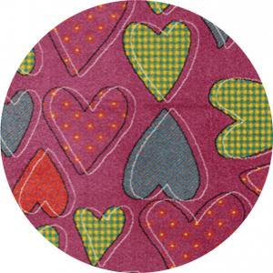 Sintelon koberce Dětský kusový koberec Play 47/RMR kruh - 100x100 (průměr) kruh cm