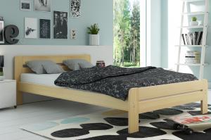 Široká posteľ DALLASO 160x200cm BOROVICA