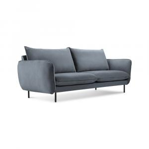 Sivá pohovka Cosmopolitan Design Vienna, 160 cm