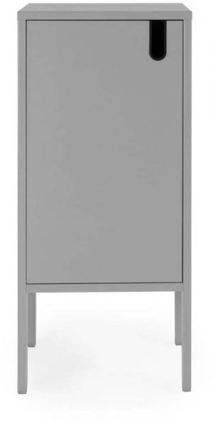 Sivá skriňa Tenzo Uno, šírka 40 cm
