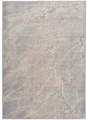 Sivo-béžový koberec z viskózy Universal Margot Marble, 140 x 200 cm