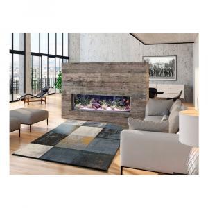 Sivý koberec vhodný aj do exteriéru Universal Adra Azulo, 133 × 190 cm