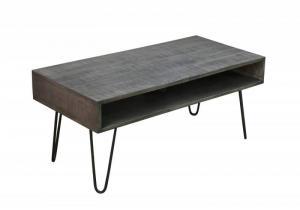 Sivý konferenčný stolík Mantis 100cm »