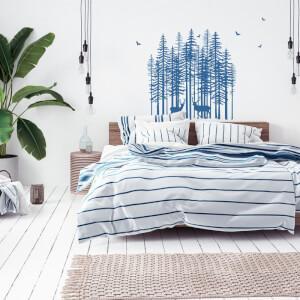 Škandinávsky štýl - Stromy do spálne