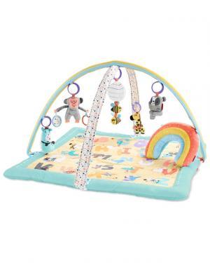 SKIP HOP - Deka na hranie 5 hračiek, vankúšik ABC & ME 0m+