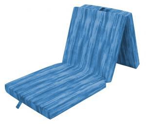 Skladací príležitostný matrac Thommy 190x63, modrá