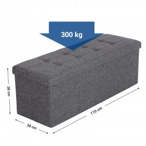 Skladací taburet ANDY, 2305-01-02 (LSF77K)
