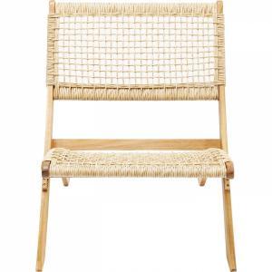 Skládací židle s výpletem Copacabana