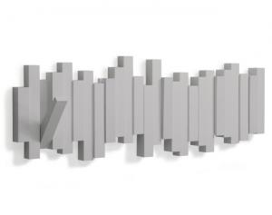 Sklápěcí nástěnný věšák Umbra Sticks - šedý