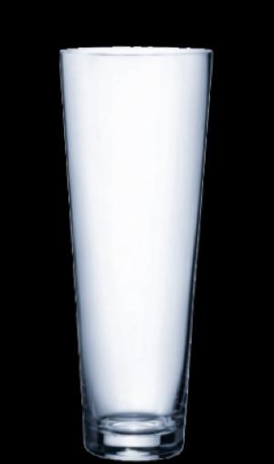 Skleněná váza Ambiente 350 mm, kónická, Rona