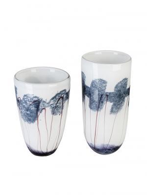 Sklenená váza Baltic, 28 cm