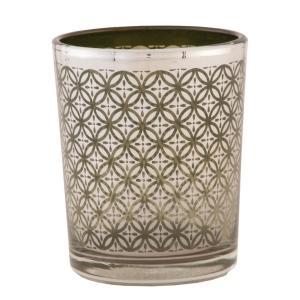 Sklenený svietnik na čajovú sviečku - Ø 5 * 6 cm
