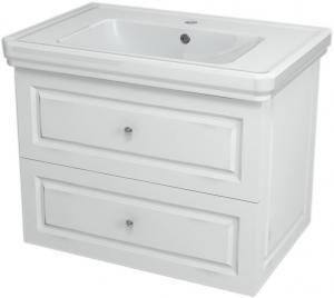 Skrinka pod umývadlo VIOLETA ,68,5x52x46,5 cm, biela pololesk