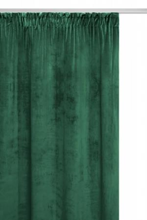 SN Velúrový záves Velvet zelený 140x270