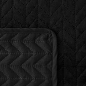 SN Zamatový prehoz na posteľ Moxie Farba: Biela, Rozmer: 240x220