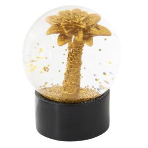 Sněžítko so zlatou palmou - Ø 8 * 11 cm