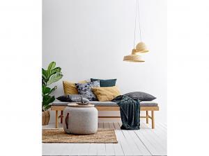 Sodahl, Polštář pletený 50x50 Deep Green | Zelený