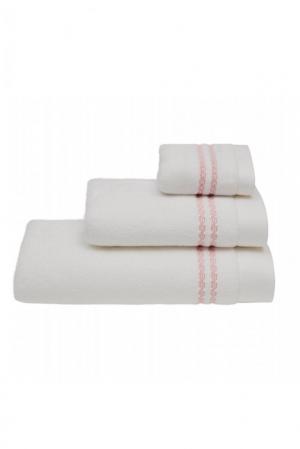 Soft Cotton 3x malý uterák CHAINE 30x50 cm. Malý froté uterák MICRO COTTON 32x50 cm z micro bavlny je zárukou najvyššej kvality. Vlákna majú vyššiu absorpciu a udržujú farebnú stálosť. Biela / modrá výšivka