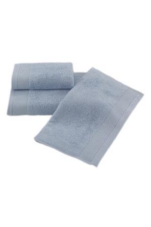 Soft Cotton Bambusová osuška BAMBOO 85x150 cm. Bambusové osušky BAMBOO majú prirodzené antibakteriálne vlastnosti, odolávajú baktériám a plesniam a sú ideálne pre každodenné použitie aj do sauny. Svetlo modrá