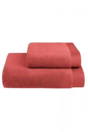 Soft Cotton Darčeková sada uterákov a osušiek MICRO COTTON. Uteráky a osušky s antibakteriálnou ochranou sú vyrobené z česanej 100% MICRO bavlny o gramáži 500 g / m2. Terakota