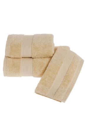 Soft Cotton Luxusné osušky DELUXE 75x150cm. Osuška s vysokou gramážou, pri ktorých platí pravidlo, že pojme 5x toľko vody, ako sama váži v suchom stave! Medová Honey