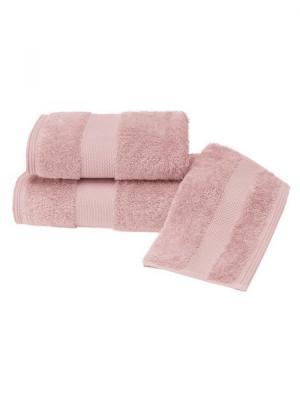 Soft Cotton Luxusný malý uterák DELUXE 32x50cm z Modalu. Majú väčšiu savosť ako bavlna a zostávajú krásne hodvábne aj po niekoľkých rokoch. Svetlo modrá