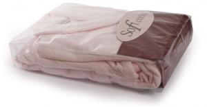 Soft Cotton Pánsky a dámsky župan MICRO COTTON v darčekovom balení + papučky. Extra jemný a velice savý dámský a pánský župan MICRO COTTON z té nejlepší micro bavlny. Smotanová XL + papučky (42/44) + darčekové balenie
