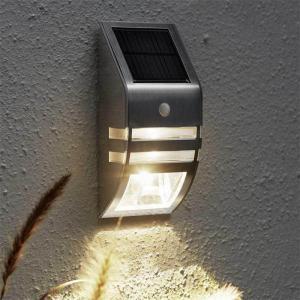Solárne nástenné svetlo so senzorom