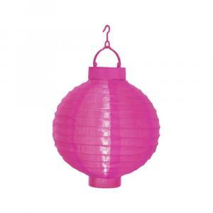 Solárny LED lampáš Best Season Pinkie, ø20cm