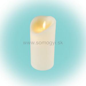 Somogyi, LED vosková sviečka s plameňovým efektom, 1 žltá LED CMW 16