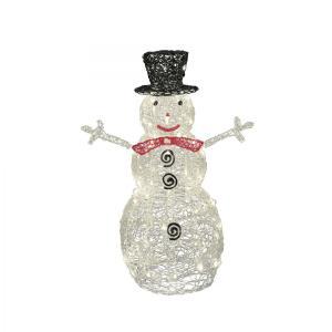 Somogyi KDA 9, Vianočná figurka Snehuliak z akrylu, 90cm