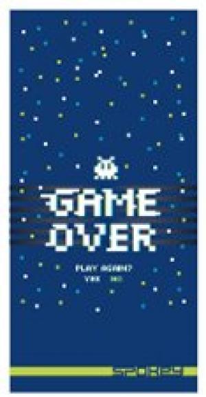 SPOKEY - GAME OVER Rýchloschnúci športový uterák 80x160cm