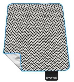 SPOKEY - PICNIC ZIGZAG Pikniková deka s popruhom 180 x 210 cm akryl