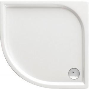 Sprchová vanička CUBIC, oblúk, 80x80, 90x90 - 80