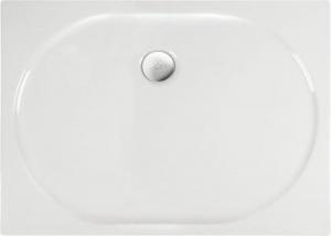 Sprchová vanička ELIPSA ,120 x 90 x 4 cm, akryl