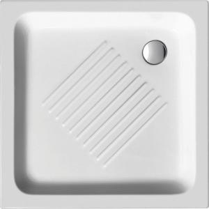 Sprchová vanička STANDART 80 x80x10, keramická