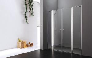 Sprchové dvere Aquatek GLASS B4 - 130 / matne / Biela