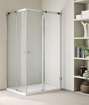 Sprchový kút 100x80 Aquatek INFINITY R14 - Pravá / Silver