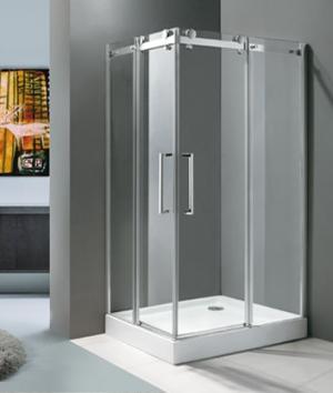 Sprchový kút 100x80 Aquatek TEKNO R14 - 190 / Biela