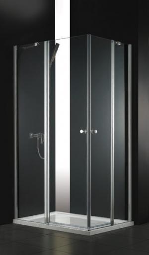 Sprchový kút 80x100 Aquatek GLASS R14 - čire / Transparent