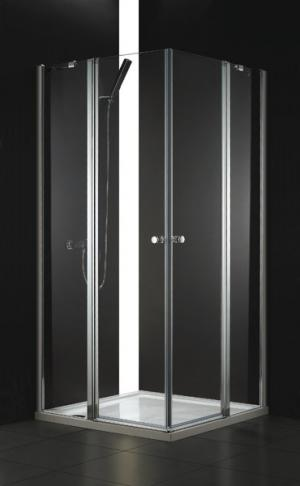 Sprchový kút 90x90 Aquatek GLASS A4 - čire / Transparent