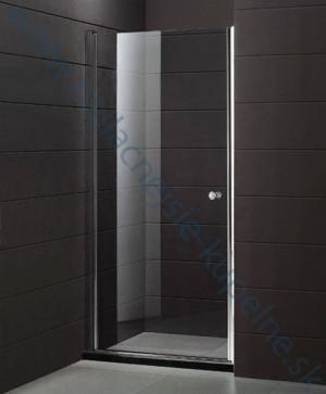 Sprchový kút Aquatek GLASS B1 - 70 / Caramel