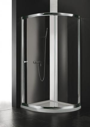 Sprchový kút Aquatek MASTER S2 rám-chrom 80,90 - 80 / čire / Jasmine