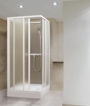 Sprchový kút Aquatek ROYAL D4 80, 90 - 80