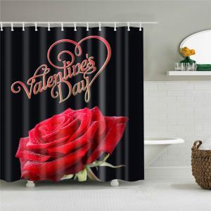 Sprchový záves Valentín Veľkosť: XL