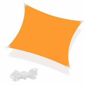 SPRINGOS Tieniaca plachta štvorec 400x400cm - oranžová