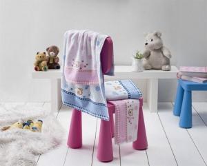 Stanex Detské froté uteráky a osušky BRUMIK - Osuška 50x70 - MODRÁ