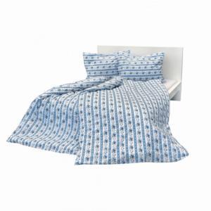 Stanex Krepové obliečky Retro modré (LS249) - Ložní povlečení 140x200 + 90x70 - (LS249)