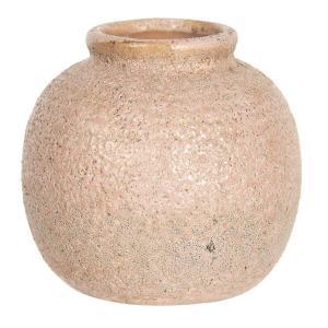 Staroružová váza s patinou - Ø 8 * 8 cm